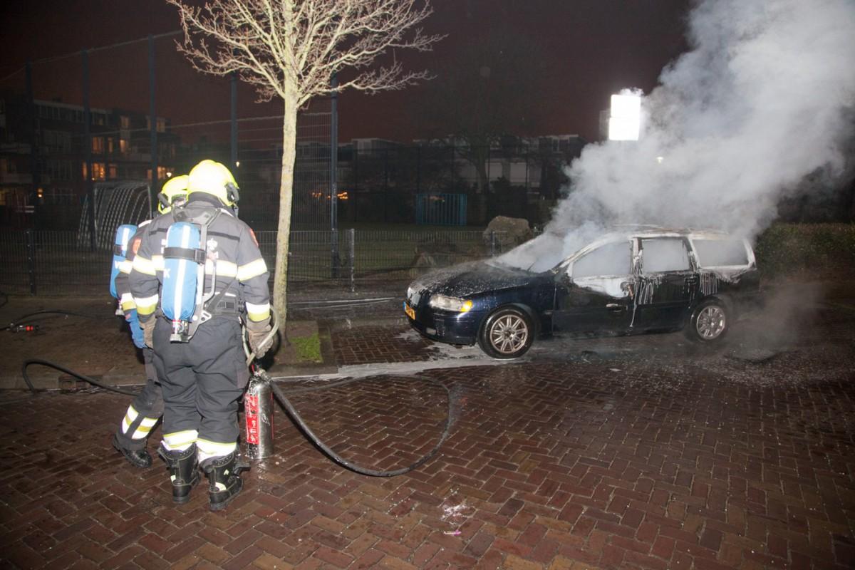 01-01-2017 Jaarwisseling Brandweer Haarlem Oost 2016 naar 2017