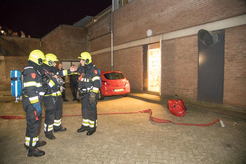 Brand in CV ruimte Jumbo Haarlem Schalkwijk