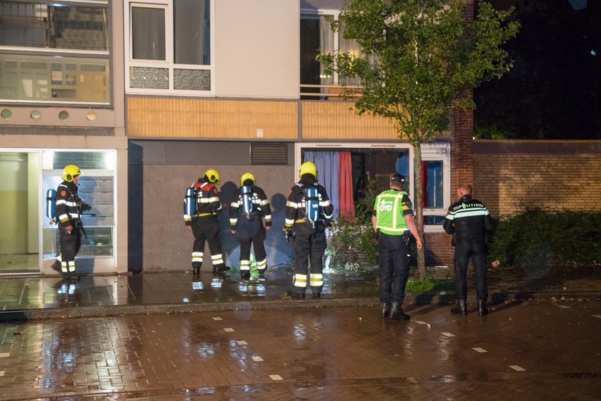Explosie in woning Edward Jennerstraat Haarlem Schalkwijk