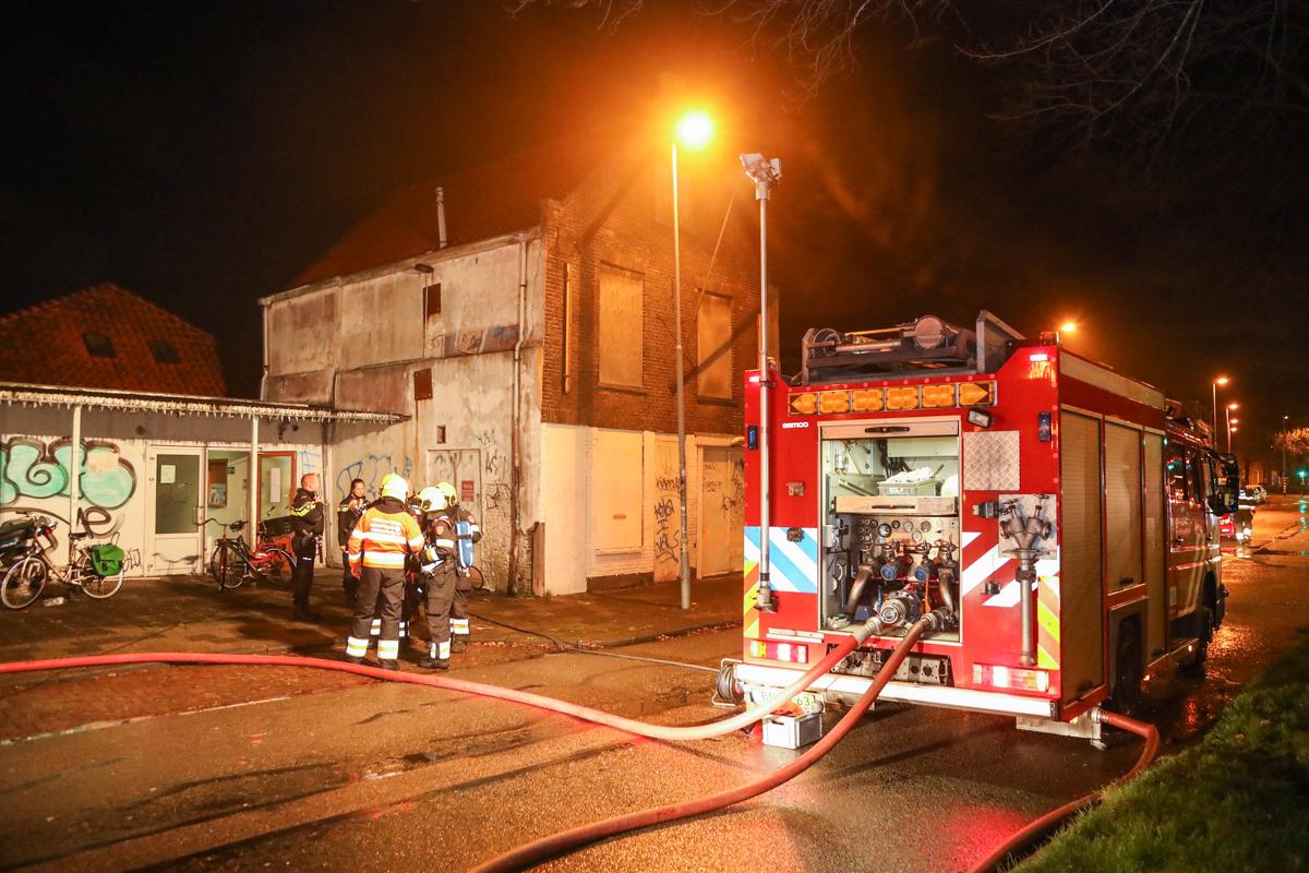 Brand bij de Voedselbank in Haarlem