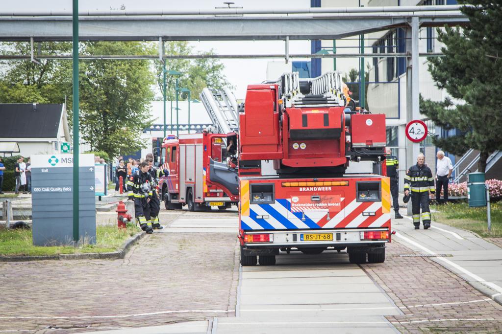Brand bij farmaceutisch specialist MSD Haarlemse Waarderpolder