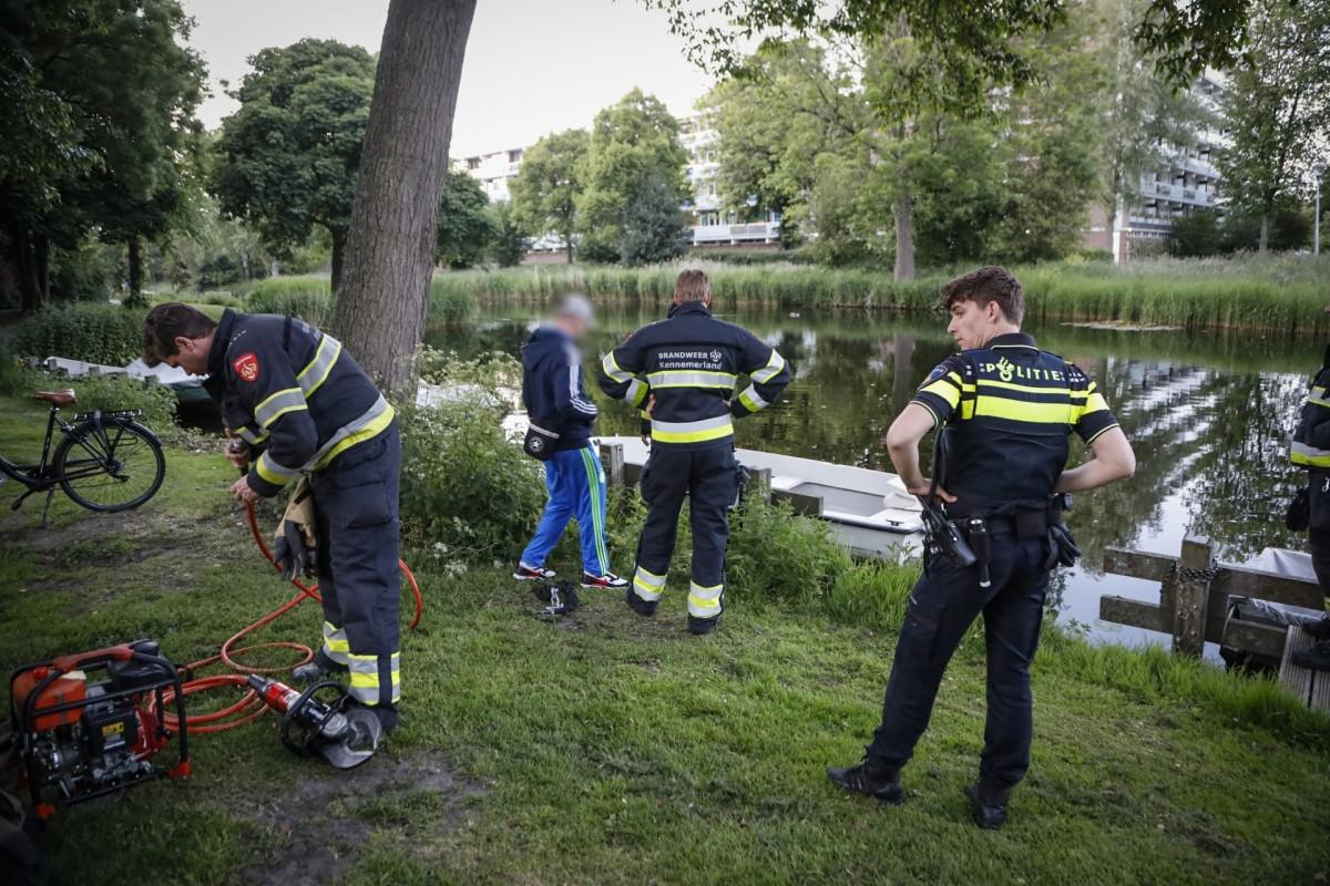 Man vindt gestolen boot terug Oostermoer Haarlem Schalkwijk