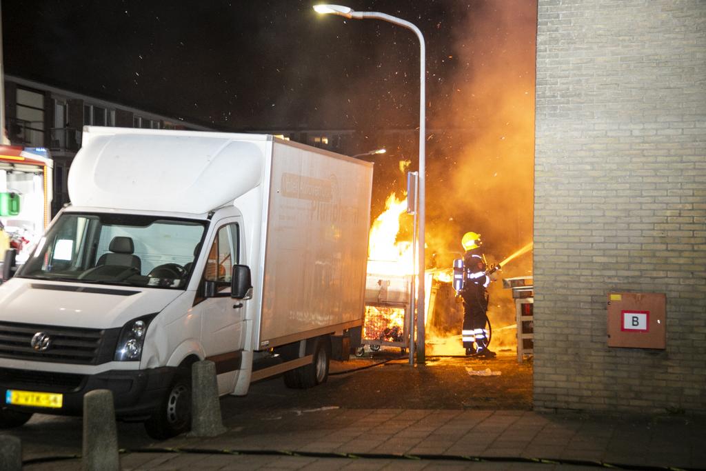 Buitenbrand Andorrastraat Haarlem Schalkwijk