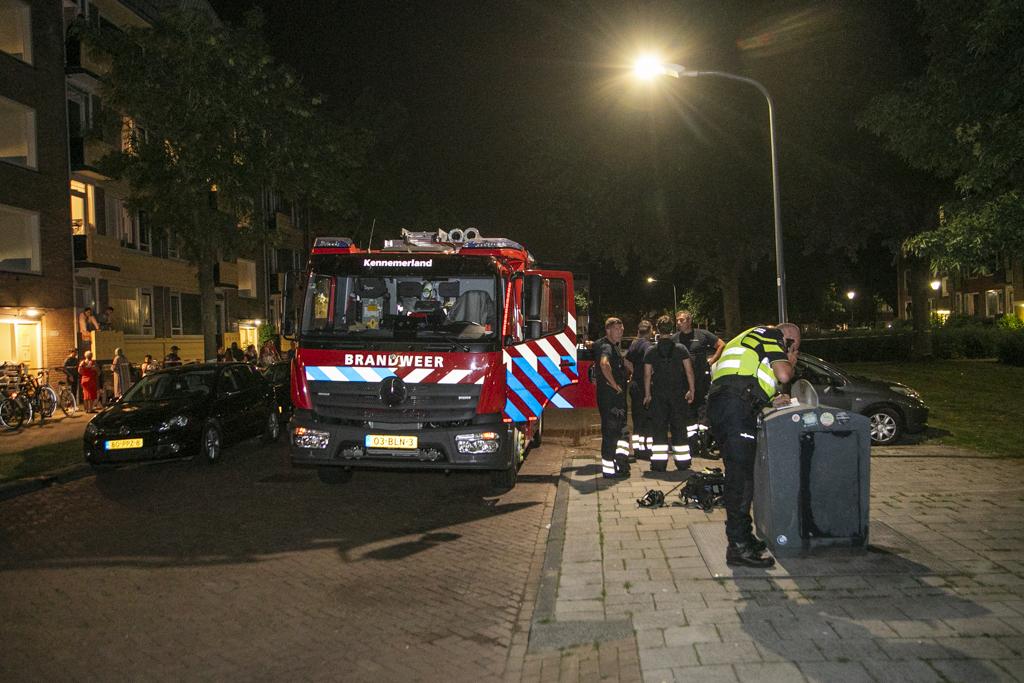 Gewonde bij woningbrand Zwedenstraat Haarlem Schalkwijk