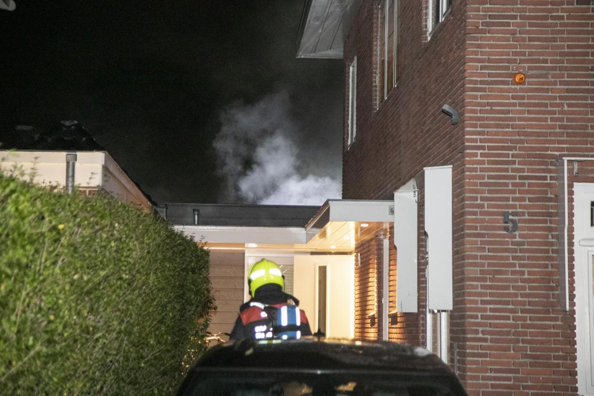 Brand in gaskachel Jacob Ruisdaellaan Heemstede