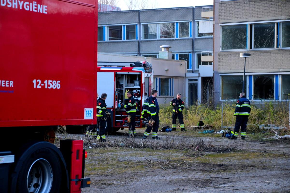 Kleine brand in voormalig Boerhaavekliniek Haarlem