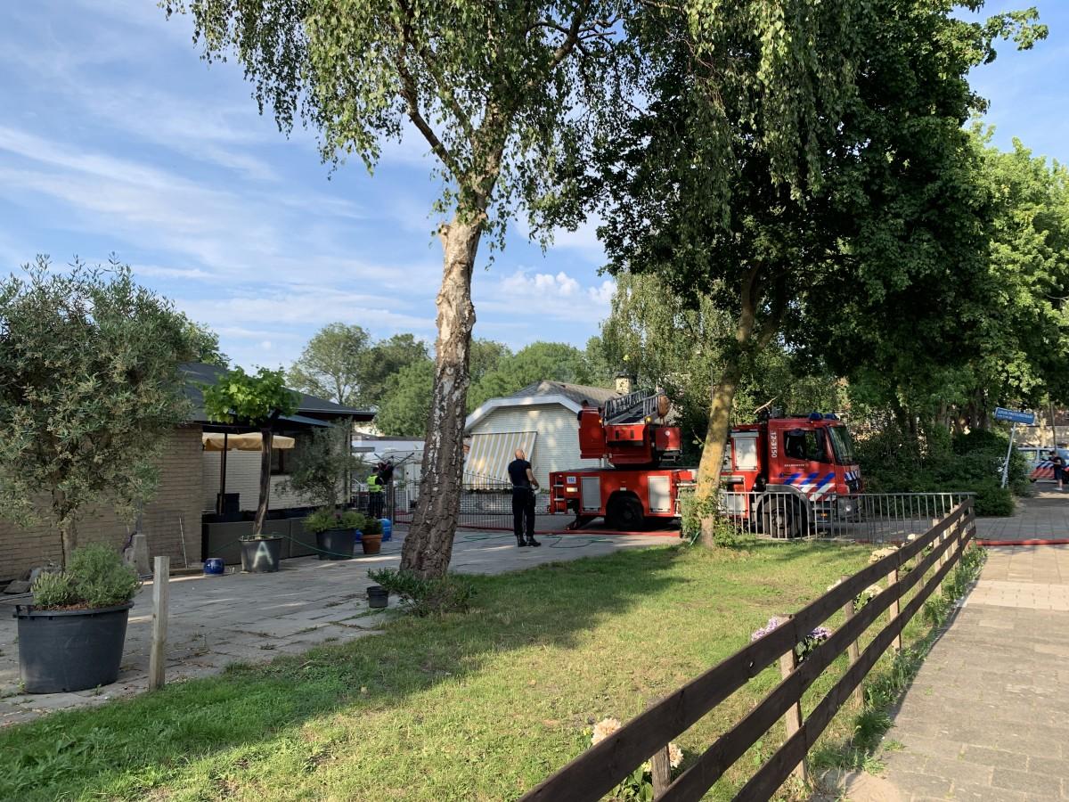Brand in woonwagen Louis Pasteurstraat Haarlem Schalkwijk