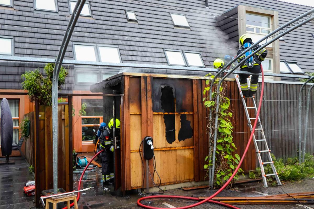 Schuurbrand Blokhuis Vijfhuizen