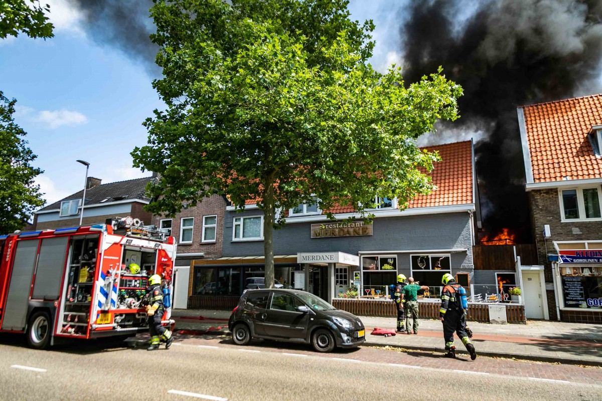 Uitslaande brand Haarlem-Noord