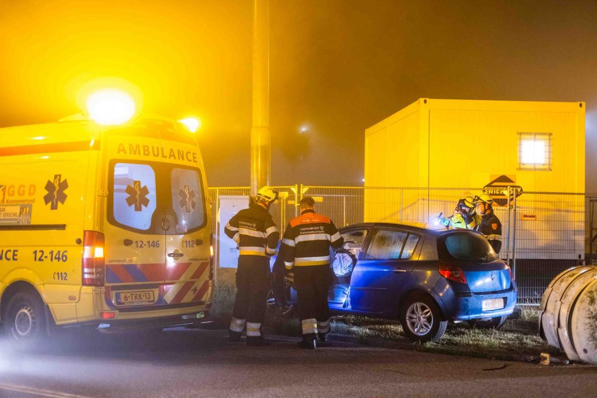 Twee gewonden bij ongeluk Haarlem-Spaarnwoude, bestuurder aangehouden